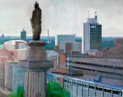 William Willberforce Looks Out Over Hull: Hull from Hull College Tower
